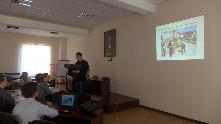 Презентация объезда архивов Польши и проекта «Европа своими глазами»