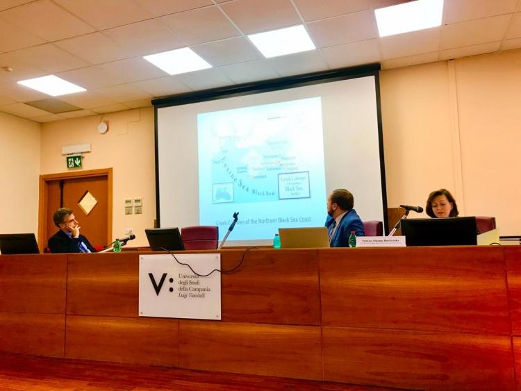 """Участь доц. О. А. Ручинської в конференції """"Глобалізація, інтернаціоналізм та мультикультуралізм"""" (Італія)"""